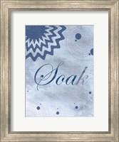 Framed Soak Blue Spa 2