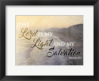 Lord Sunset Framed Print
