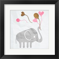 Framed Elephant Balloon