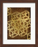 Framed Geo Gold 1