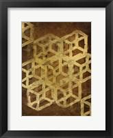 Framed Geo Gold 1