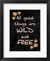 Framed All Good Things
