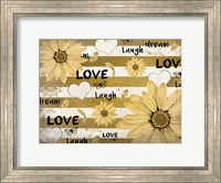 Framed Love Dream Laugh