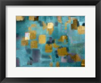 Framed Squared Blue