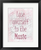 Framed Lose Yourself A