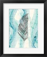 Framed Henna Feather 2