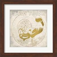 Framed Golden Farm Fresh