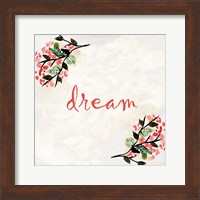 Framed Floral Dream