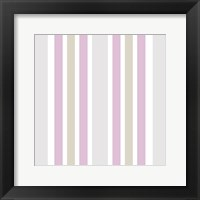 Fashionista Pattern Framed Print