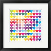 Framed Groovy Love Pattern 2