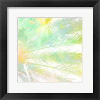 Framed Watercolor Palm 1