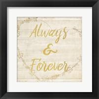 Framed Always and Forever