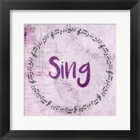 Framed Music Sing