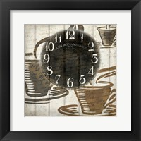 Framed Coffee Time