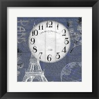Framed Paris Time