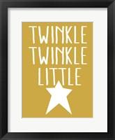 Framed Twinkle Twinkle 2