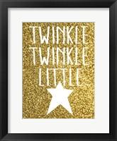 Framed Twinkle Twinkle