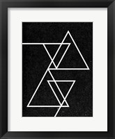 Framed Black Triangle