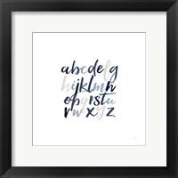 Framed Boy Lower Letters