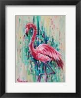 Framed Flamingo Pose 1