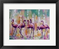 Framed Flamingo Rondevu 1