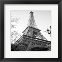 Framed Eiflel Tower Square