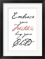 Framed Embrace Your Child