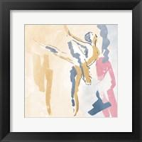Framed Sketched Ballerina 2