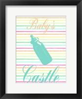 Framed Baby's Castle