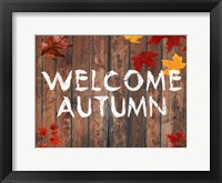 Framed Welcome Autumn