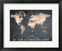Framed For God So Loved The World