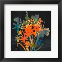 Framed Bright Garden 2