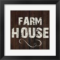 Framed Farm House