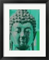 Framed Blue Buddah