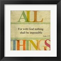 Framed All Things