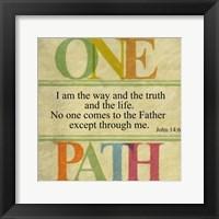 Framed One Path