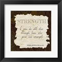 Framed Strength