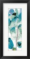 Framed Indigo Petals 3