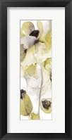 Framed Gray Yellow Petals 2