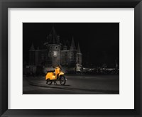 Framed Amsterdam Scooter