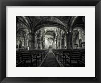 Framed Cuba Church B&W