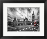 Framed London Doubledecker