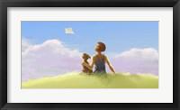 Framed Kite Memories