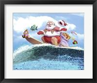 Framed Santa's Vacation