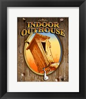 Framed Indoor Outhouse