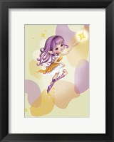 Framed Lilac Fairy