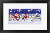 Framed Hockey