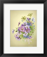 Framed Bouquet of Summer Flowers