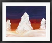 Framed Winter Sunrise