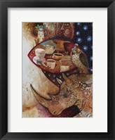 Framed Goddess of Coffee